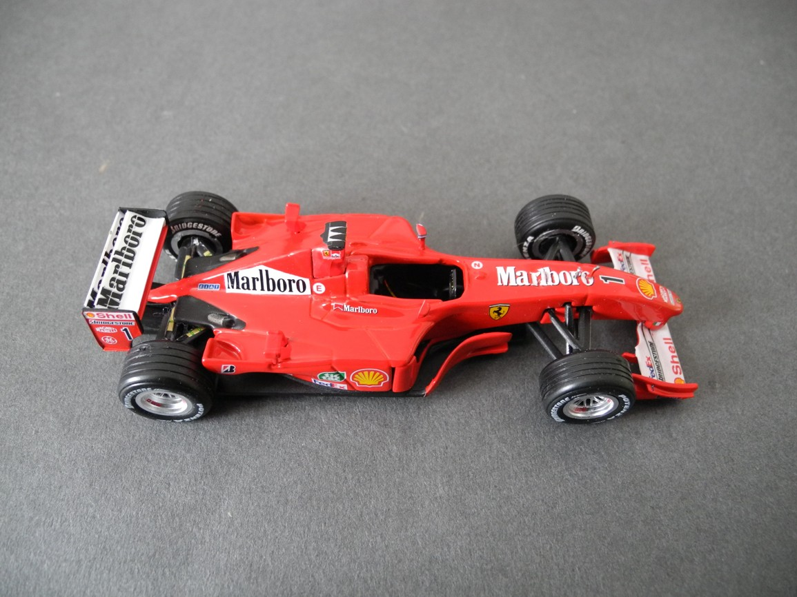 ferrari f2001 michael schumacher - photo #29